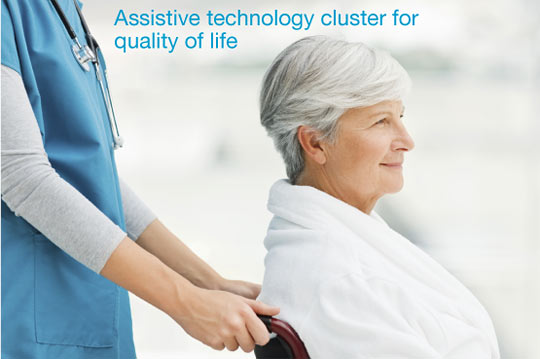 Assistive technology cluster for quality of life